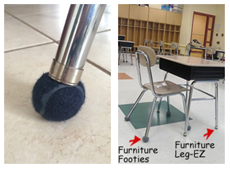 Furniture Footies vs. Furniture Leg-EZ